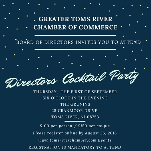 2016 Directors Cocktail Party